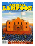 National Lampoon  September 1980 - The Past and How it Got There  Remember the Alamo