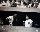 Ken Regan Signed Yogi Berra w/ Elston Howard in Dugout B&amp;W