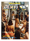 National Lampoon  February 1976 - Artists and Models