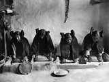 Hopi Grinding Grain  C1906