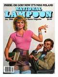 National Lampoon  October 1984 - Oh God! Now it's Miss Poland