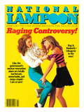 National Lampoon  February 1983 - Raging Controversy