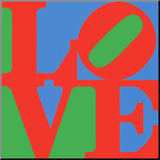 Classic Sky Love Reproduction montée par Robert Indiana