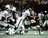 Harry Carson Tackling McDaniel of the Redskins