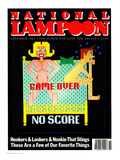 National Lampoon  November 1983  - Game Over No Score