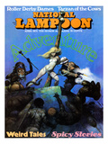 National Lampoon  April 1971 - Adventure: Weird Tales and Spicy Stories