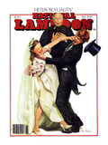 National Lampoon  February 1979 - Heterosexuality: A Violent Wedding  Violent Bride and Violent Gro