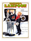 National Lampoon  December 1975 - Money  Peeing on the Men Working Below