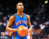Chauncey Billups New York Knicks Ball In Hands
