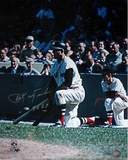 Carl Yastrzemski Kneeling w/ &quot;TC 67&quot; Signed by Photographer Ken Regan