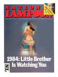 National Lampoon  January - 1984: Little Brother is Watching You