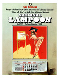 National Lampoon  April 1975 - Car Sickness  the Pin-Up Calendar