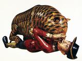 India: Tiger Attack