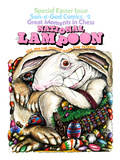 National Lampoon  December 1972 - Special Easter Issue