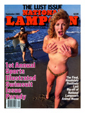 National Lampoon  May 1985 - 1st Annual Sports Illustrated Swimsuit Issue Parody