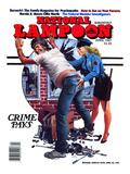 National Lampoon  April 1987 - Crime Pays
