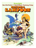 National Lampoon  August 1973 - Strange Beliefs Sexy Warrior Woman