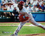 "Ervin Santana Angels Pitching "" No Hitter  7/27/11"" Autographed Photo (Hand Signed Collectable)"