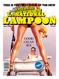 First Issue of the New National Lampoon  January 1985 - Good Clean Sex
