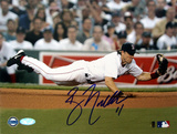 Bill Mueller Dive Vs Tampa Bay graph Autographed Photo (Hand Signed Collectable)