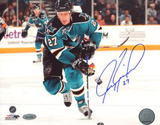 Jeremy Roenick San Jose Sharks Skating Up Ice