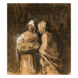 Daumier: Virgin & Child