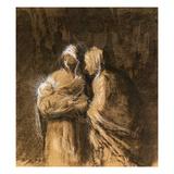 Daumier: Virgin & Child