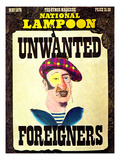 National Lampoon  May 1976 - Unwanted Foreigners