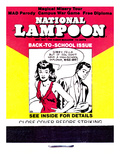 National Lampoon  October 1971 - Back to School Matchbook Issue