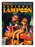 National Lampoon  June 1982 - Do it Yourself  Pinocchio Makes a Girl
