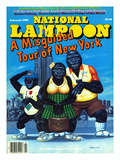National Lampoon  February 1985 - Misguided Tour of New York