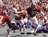 Marty Lyons Alabama Action vs Florida Autographed Photo (Hand Signed Collectable)