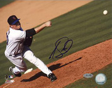Joe Smith Pitch Autographed Photo (Hand Signed Collectable)