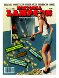 National Lampoon  February 1986 - Big Money and Other Sexy Subjects Issue