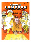 National Lampoon  August 1970 - Paranoia