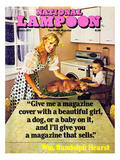 National Lampoon  January 1977 - Beautiful Girl  a Dog  and a Baby
