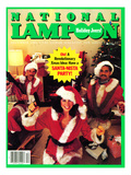 National Lampoon  December 1983 - Holiday Jeers! Have a Santa-Nista Party