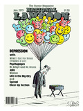 National Lampoon  January 1979 - Depression: Hanged with Happy Baloons