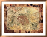 Carte de Paris II