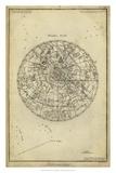 Antique Astronomy Chart I Giclée par Daniel Diderot