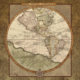 Damask World Map I