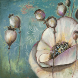 Blue Poppies I