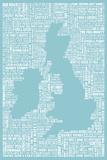 The Queen's English Reproduction d'art par Janie Secker