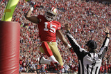 San Francisco 49ers and New Orleans Saints: Michael Crabtree