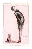 The Connoisseur Reproduction d'art par The Vintage Collection
