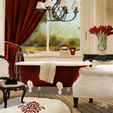 Red Chandelier Bath II