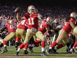 San Francisco 49ers and New Orleans Saints: Alex Smith