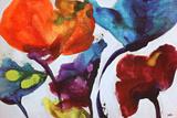 Affluent IV Reproduction d'art par Leila