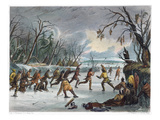 Native Americans: Ball Play  1855
