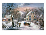 Homestead Winter  1868
